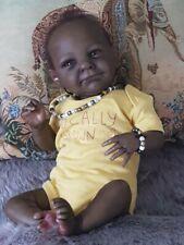 """AFRICAN / BI-RACIAL """"KENDI""""  WAS AVA BY CASSIE BRACE ~ Talia's Reborn Nursery ~"""