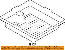 FORD OEM 09-18 Flex Rear Console-Tray 8A8Z74115A00AA