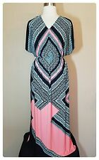 Denim 24/7 Plus Size Maxi Dress 18/20 Womens Sundress Cover Up Beach NWOT