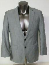 Hugo Boss Mens Jacket Size 38R Wool Gray 2 Button Blazer Huge4/Genius3 Reda 110