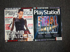 Lot of 2 Official Playstation Magazines August July 2001 Issues