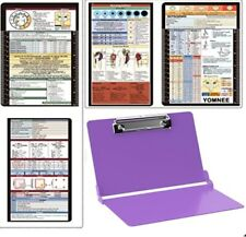 Folding Clipboard, Nursing and Medical Clipboard, 2 in 1, HIPAA Privacy