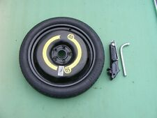 """AUDI A1 2010-2020 18"""" SPACE SAVER SPARE WHEEL & TYRE, JACK & WHEEL SPANNER"""