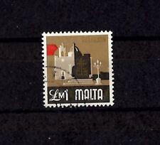 Malta £1M 1973 Defintive - Religion SG499  Used