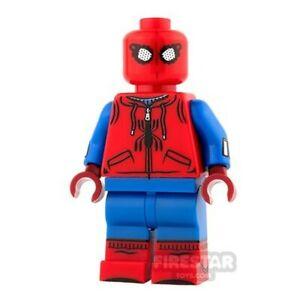 Custom SPIDER-MAN Homebound Minifigure -Printed on Genuine Lego- NEW- Firestar