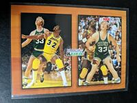 1994 Skybox Magic And Bird Insert MB1 Earvin Magic Johnson and Larry Bird