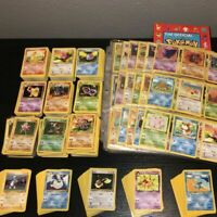 ORIGINAL Pokemon 10 Card Lot - Vintage WOTC Sets!! 1st Edition, Rare, Holo Rare