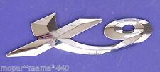 VESPA PIAGGIO X9 SCOOTER EMBLEM CHROME BADGE 624394
