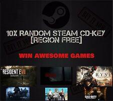 10x Random Steam CD-Key | Region Free | Fast Delivery |
