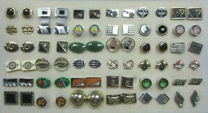 Vintage Collection of 36 Pairs of Gold Plated Cuff Links # 1 of 3