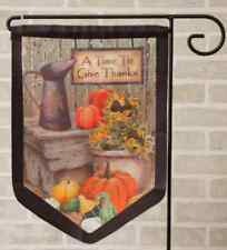 Harvest Design new Outdoor Garden Flag
