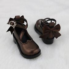 1//4 BJD Shoes MSD Shoes Dollfie MID DOD AOD AF Hollow out Bow Lolita white Shoes