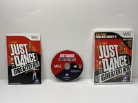 Just Dance - Greatest Hits (Nintendo Wii, 2012) Complete and Tested