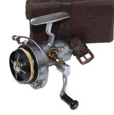 VINTAGE Hardy ALTEX N. 1 Mk4 Spinning Mulinello Mano Sinistra VENTO IN BACHELITE Spool & Box