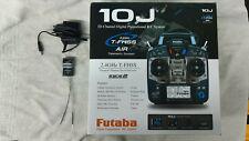 Futaba T10J Fernsteuerung mit Telemetrie x R3008SBx Lipo Mode 2 Top !
