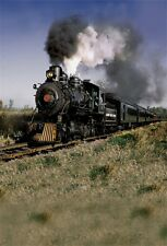 Running Steam Train Photography Backgrounds 5x7ft Vinyl Studio Photo Backdrops