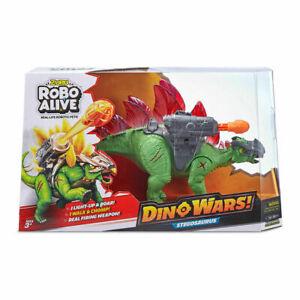 Zuru Robo Alive Dino Wars Stegosaurus Toy - Assorted Christmas Gift Item ToysT1