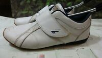 hi tec mens white casual trainers shoes size 9uk/43EU di