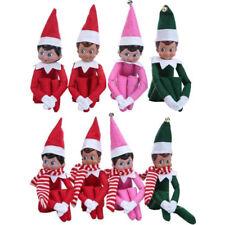 The Elf On The Shelf Plush Dolls Girl&Boy Figure Christmas Novelty Toy Xmas Gift