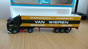 HB28: Early Tekno 1:50 Scale Scania 142H Van Wieren Truck - Exc / Boxed