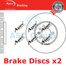 2x Apec Bremsen 280mm Belüftet OE Qualität Ersatz Bremsscheiben (Paar) Dsk794