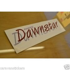 ABI Award Dawnstar Caravan Stickers Decals Graphics - PAIR