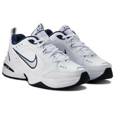 NEW Nike Air Monarch IV Running Shoes 415445-102 Men's Shoe Size 11 'White Navy'