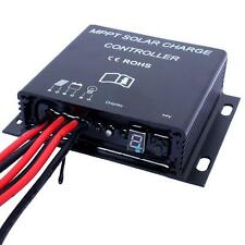 20A 12V/24V Auto LED MPPT Solar Battery Charge Controller Waterproof Timer TL