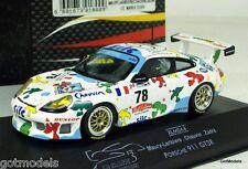 ONYX 1/43 - XLM044 PORSCHE 911 GT3R - LE MANS 2000 LAUBIERE / CHAUVIN / ZADRA