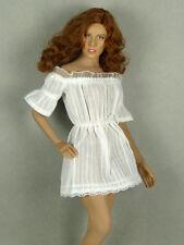 1/6 Phicen, Hot Toys, Kumik, Nouveau Toys - Sexy Female White Lace Romper Dress