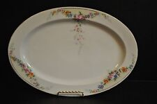 "14 1/8"" Hutschenreuther Oval Serving Platter  HUT504 - Discontinued Pattern"