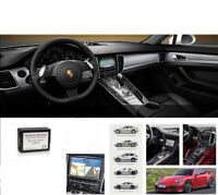 Rückfahrkamera Interface + TV DVD Free Freischaltung Navi PCM 3.1 für Porsche