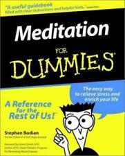 Meditation For Dummies A Reference For The rest Of Us