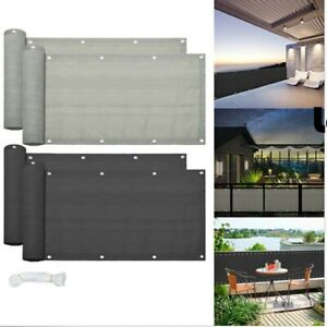 5M Privacy Garden Fence Panel Cover Balcony UV Protection Shade Screen Patio