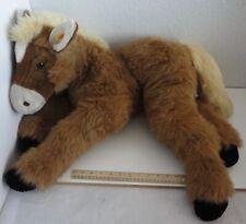 "Steiff Button in Ear Large 30"" Plush Horse"