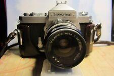 Vintage Nikon Nikkormat FT Camera Nikkor-S  Auto 1:28 Camera Lens Nikon Camera