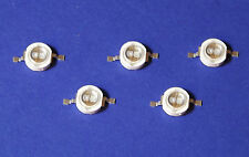 5X 5W POWER UV LED  Emitter 365nm Ultra Violet Kleber Härten Banknote Money Geld