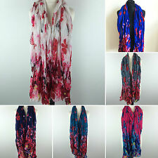 Polyester Shawls/Wraps Floral Scarves & Shawls for Women