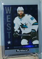 2017-18 Upper Deck Parkhurst East vs. West #W-3 Brent Burns San Jose Sharks