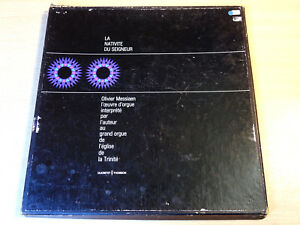 EX !! Olivier Messiaen/La Nativite Du Seigneur/1964 2x LP Box Set