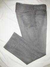 ::>    GAP    ~ Mens  STRAIGHT FIT  Gray Jeans ~ Sz 38 x 32/33 ~ EXCELLENT