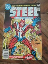Steel The Indestructible Man #  1 March 1978 - DC Comics                      ZH
