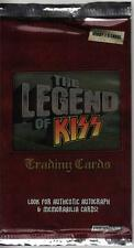 Press Pass The Legend of KISS Trading Card Pack