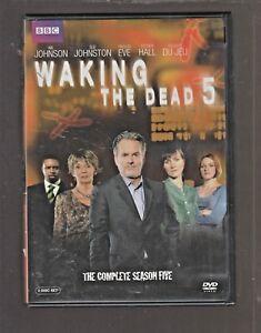 BBC 'WAKING THE DEAD' COMP SEASON 5 WIL JOHNSON SUE JOHNSTON DVD
