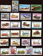 TOGO  LES TRANSPORTS: Avions,trains,bateaux,voitures  324T1