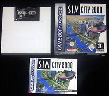 SIM CITY 2000 Gameboy Advance Versione Italiana ••••• COMPLETO