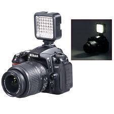 Bestlight Video Light 36 LED Rechargeable Battery f DV Canon Nikon Camera
