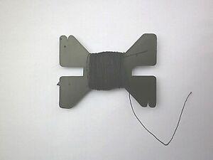 MANTUA MODEL BOAT RIGGING THREAD BLACK  0.25MM x 10M  #34280