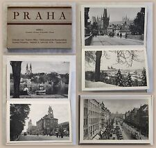 12 Ansichtskarten Postkarten Praha Prag Serie I um 1930 Tschechien Fotografie