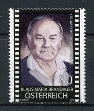 Austria 2018 MNH Klaus Maria Brandauer Actor 1v Set Famous People Stamps